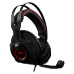 KINGSTON AUDÍFONOS GAMING HYPERX CLOUD REVOLVER – NEGRO/ROJO