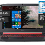 ACER LAPTOP NITRO 5 AN515-52-76P6 15.6″ CORE i7 1TB 12GB