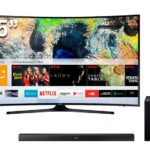 "SAMSUNG SMART TV UHD 55"" CURVO 55MU6300"