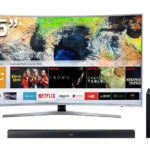 "SAMSUNG SMART TV UHD 55"" CURVO 55MU6500"