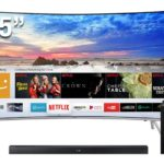 "SAMSUNG SMART TV UHD 55"" CURVO 55MU7500"