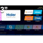 "HAIER SMART TV UHD 43"" LE43U6600DUA"