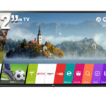 "LG SMART TV 32"" HD 32LJ550B"