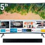 SAMSUNG SMART TV UHD 55″ CURVO 55NU7300