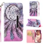Pattern Printing Wallet Stand Leather Case for Samsung Galaxy S10e – Dream Catcher