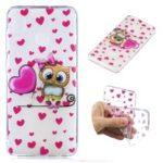 Pattern Printing Soft TPU Case for Samsung Galaxy A30 / A20 – Cute Owl