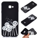 Matte Pattern Printing TPU Soft Mobile Cover for Samsung Galaxy J4+ – Dandelion