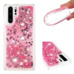 Dynamic Quicksand Shock-absorbing TPU Protection Mobile Phone Shell for Huawei P30 Pro – Pink
