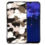 Camouflage Pattern TPU Back Case for Huawei P Smart (2019) / Nova Lite 3 (Japan) – White