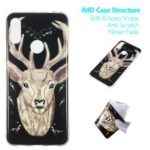 Noctilucent IMD TPU Case for Xiaomi Redmi Note 7 / Note 7 Pro (India) – Elk Pattern