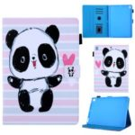 Pattern Printing Leather Flip Tablet Case for iPad 9.7-inch (2018) / iPad Air (2013) / Air 2 – Panda