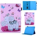 Pattern Printing Leather Flip Tablet Case for iPad Pro 11-inch (2018) – Elephant