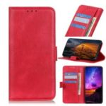 Wallet Stand Leather Phone Case for Samsung Galaxy S10 – Red