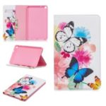 Pattern Printing Wallet Stand Leather Case for Samsung Galaxy Tab A 8 (2019) P200 P205 – Vivid Butterflies
