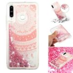 For Samsung Galaxy A60 Moving Glitter Powder Sequins Patterned TPU Protection Case –  Mandala