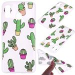 Pattern Printing TPU Case for Samsung Galaxy A30 / A20 – Cactus