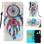 Pattern Printing Light Spot Decor Stand Leather Wallet Cover for Huawei P Smart Plus 2019 / Honor 10i / Enjoy 9s / nova 4 lite – Colorized Dream Catcher