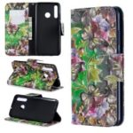 Pattern Printing Light Spot Decor Leather Wallet Case for Huawei P Smart Plus 2019 / Enjoy 9s / Honor 10i – Gold Butterfly