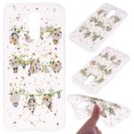 Glitter Sequins Inlaid Patterned Painting Soft TPU Case for Huawei Mate 20 Lite – Panda and Bamboo