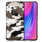 Camouflage Pattern TPU Soft Phone Cover for vivo V15 Pro – White