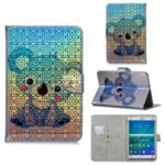 Universal 10-inch Patterned Tablet PU Leather Card Holder Case for iPad 9.7 (2018) / Lenovo Tab 4 10 Plus – Koala