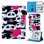 7-inch Universal Patterned Leather Stand Cover for Huawei MediaPad T3 / Galaxy Tab 3 Lite – Group of Panda