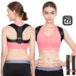 Back Spine Support Belt Humpback Shoulder Women Posture Correction Belt – M