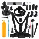 PULUZ PKT18 20 in 1 Go Pro Accessories Total Ultimate Combo Kit for GoPro