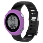 Soft Silicone Protector Watch Case for Garmin Forerunner 610 – Purple