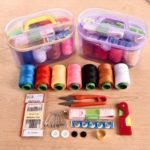 Household Cloth Art Sewing Multi-functional Portable Needle Set [Box Color Random]