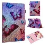 Reflecting Wallet Stand Leather Case for Apple iPad Air 10.5 inch (2019)/iPad Pro 10.5-inch (2017) – Butterfly