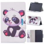 Pattern Printing Wide Clasp Stand Wallet Flip Leather Tablet Cover for Samsung Galaxy Tab S5e SM-T720 / SM-T725 – Baby Panda