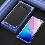 Guard Series Metal Frame + Hard PC Phone Case for Samsung Galaxy S10 Plus – Blue
