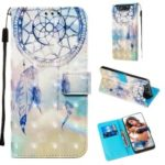 3D Painting Style Leather Phone Shell for Samsung Galaxy A90 / A80 – Dream Catcher