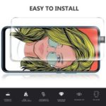 0.25mm Arc Edge Anti-explosion 9H Tempered Glass Shield for Huawei P Smart Z
