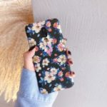 Ink Painting Flower Embossment Luminous Phone Case for OnePlus 7