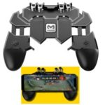 AK66 MEMO Mobile Phone Game Handle for PUBG Four-finger Artifact Mobile Controller Game Gamepad L1 R1 Trigger