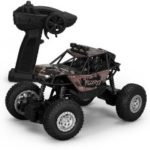 1:18 2.4G Alloy Remote Racing Car Off-Road Vehicle RC Electric Monster Truck – Black