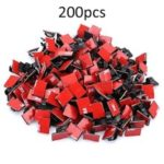 Adhesive Cable Clips Wire Clamps Car Cable Organizer Cord Tie Holder – 200Pcs/Set