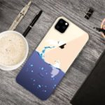 Pattern Printing Clear TPU Cell Phone Cover Case for iPhone (2019) 5.8-inch – Seal