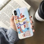 Pattern Printing IMD Soft TPU Protective Case for iPhone XS Max 6.5 inch – Summer Beach