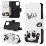 Pattern Printing PU Leather Wallet Stand Phone Cover for iPhone XS 5.8 inch – Hello Panda