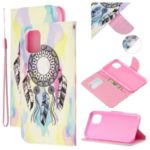 Pattern Printing Flip Leather Wallet Stand Protective Case for iPhone (2019) 6.1-inch – Dream Catcher