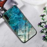 Gradient Color Tempered Glass + PC + TPU Hybrid Back Case for Samsung Galaxy A70 – Landform