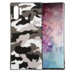 Camouflage Pattern TPU Back Case for Samsung Galaxy Note 10 Pro – White