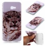 For Samsung Galaxy J4+ Animal Series Patterned IMD TPU Case – Leopard