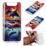 Pattern Printing IMD TPU Case for Samsung Galaxy A80/A90 – Dolphin