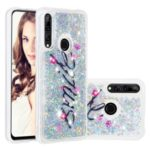 Floating Glitter Powder Sequins TPU Phone Cover  Shell for Huawei Y9 Prime 2019 / P Smart Z – Smile