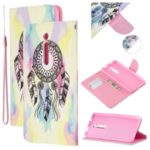 Pattern Printing Leather Wallet Phone Case with Stand for Xiaomi Redmi K20 / Mi 9T / K20 Pro / Mi 9T Pro – Dream Catcher