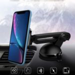 2-in-1 Magnetic Car Mount Holder Windshield Dashboard Suction Mount Stand For Cell Phones